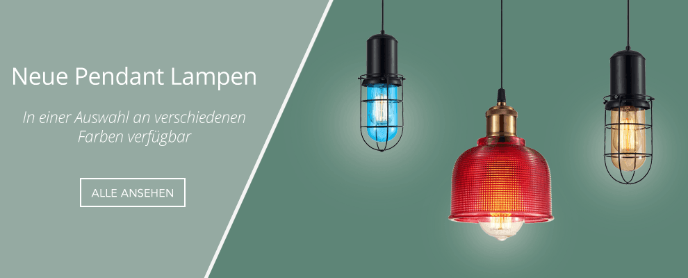 New Pendant Lamps