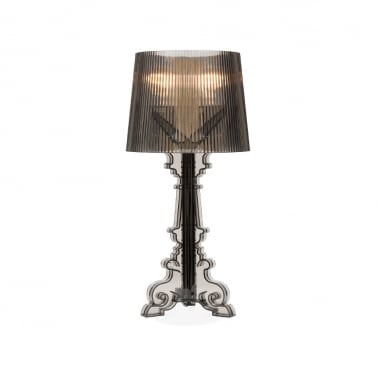 Bourgie Style Lampe - Schwarz Transparent