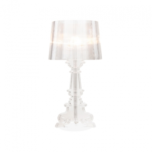 Baroque Bourgie Style Lampe - Transparent