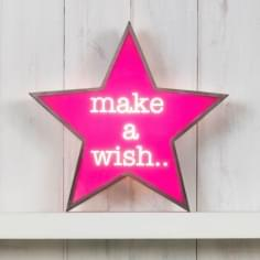 Classic Stern Lightbox - Make A Wish