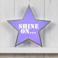 Classic Stern Lightbox - Shine On