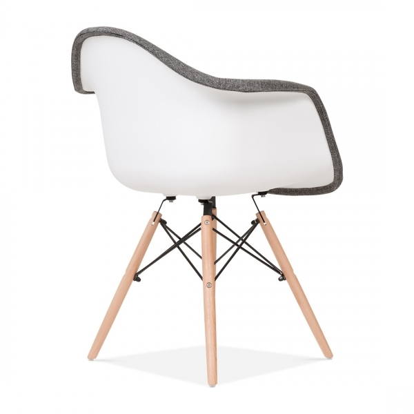 Stuhl eames stuhl eames plastic side chair dsw with stuhl for Cheap eames style chair