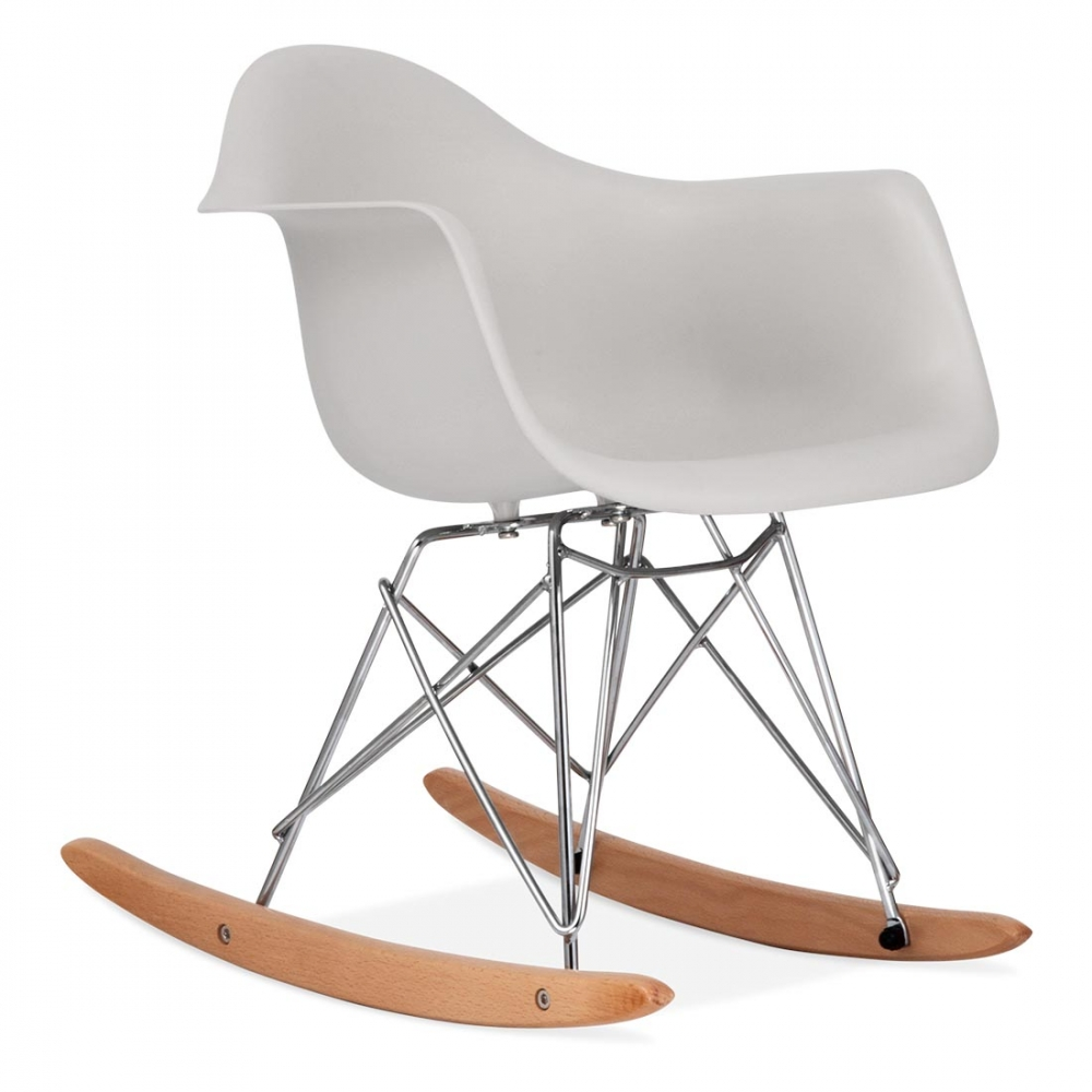 eames inspired kinder rar schaukelstuhl hellgrau cult furniture de