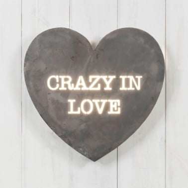 Herz Mini Lightbox - Crazy In Love
