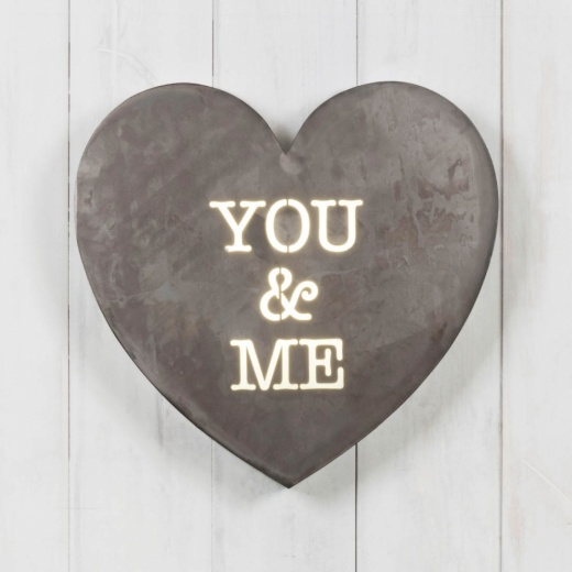 Cult Living Herz Mini Lightbox - You & Me