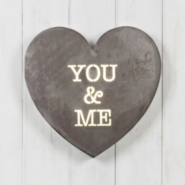Herz Mini Lightbox - You & Me