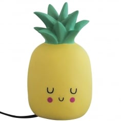Kawaii Style LED Ananas Tischlampe, Gelb