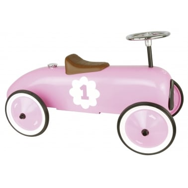 Ride On Metall Rennwagen - Rosa