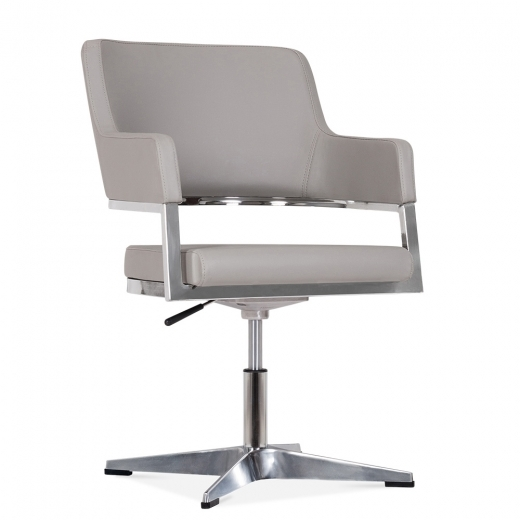 Cult Living Skyline Chair mit Aluminium Beinen - Grau