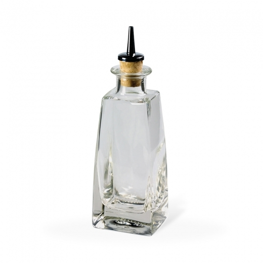 Cult Living Square Dash Bottle with Cork Stopper