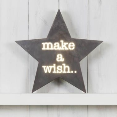 Stern Metall Light Box - Make A Wish