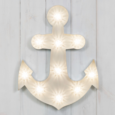 "Vegas Turbo 19"" Lampen - Anchor"