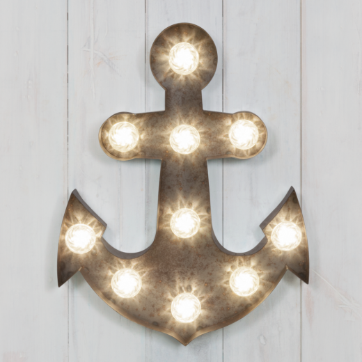 "Marquee Vegas Turbo 19"" Lampen - Anchor"